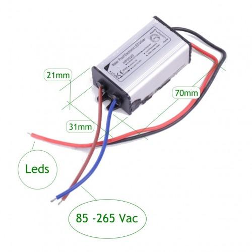 Driver proyector 20W exterior IP65