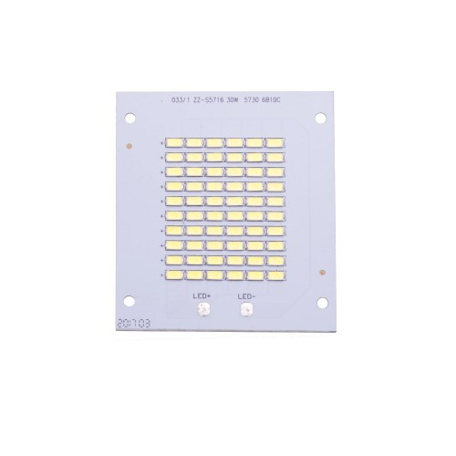 Placa LED 30W 60 led SMD5730 6000K recambio proyecto