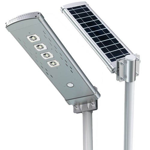 Farola solar LED 30W sensor movimiento sensor movimiento Li-Ion