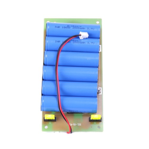 Bateria litio farola solar Li-Ion farola 10W