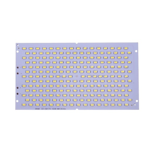 Placa LED 100W 208 led SMD5730 6000K recambio proyector