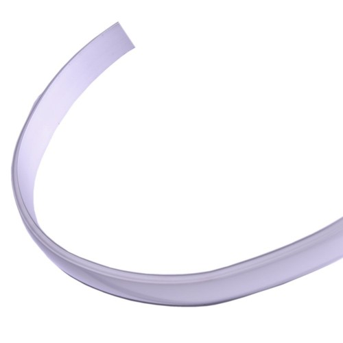 Perfil aluminio led flexible 18x4 con tapa traslucida