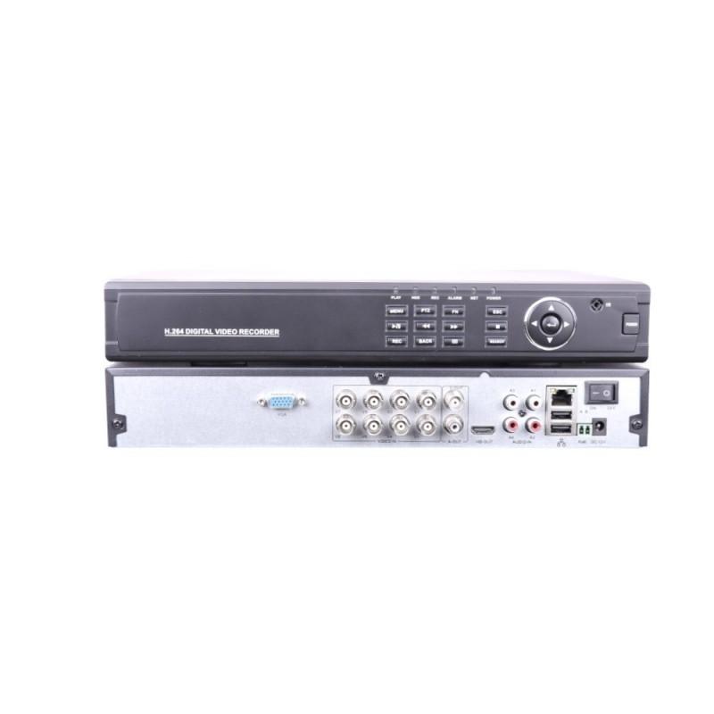 Videograbador  8 camaras 1080P 5 en 1 con entrada audio y alarmas