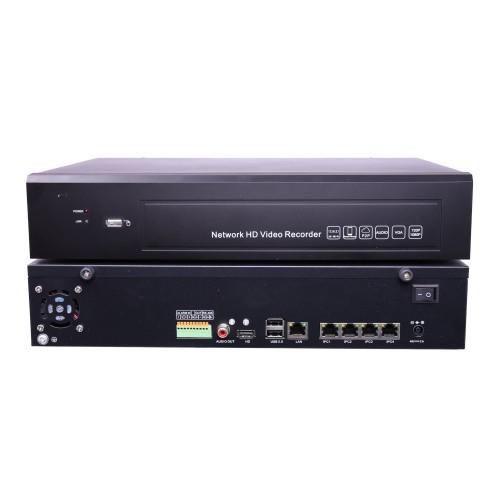 NVR 4K POE 4 canales HDMI UHD ONVIF