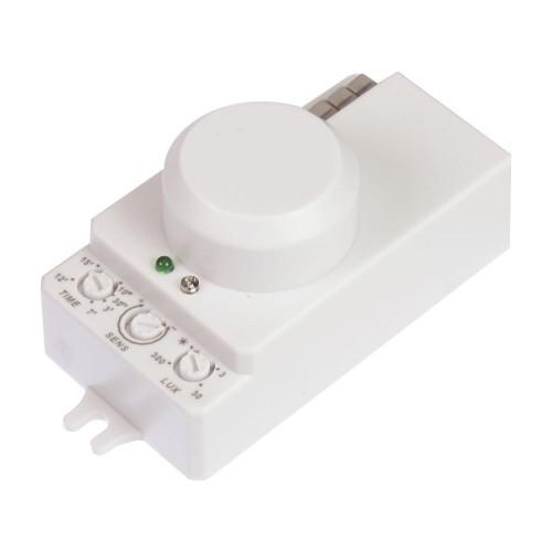 detector de movimiento micro ondas lux tiempo regulable 1200 - 300W