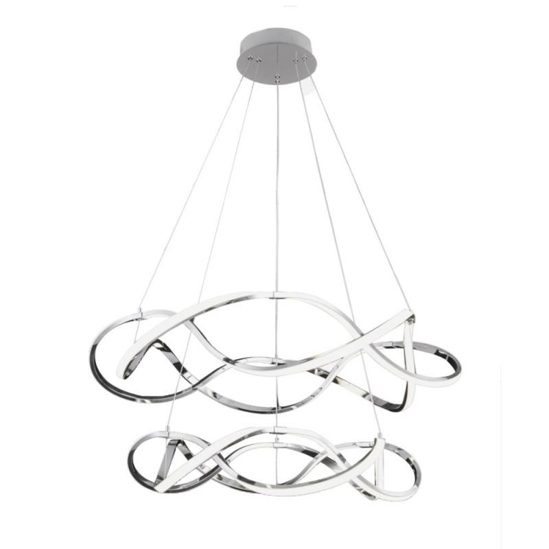 lampara techo led regulable SAGRES tri-tono 100W redonda