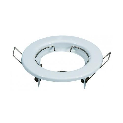 Aro circular para GU10 color blanco