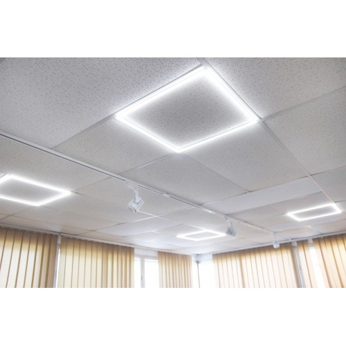 Marco luminoso 60x60 40W 6000K blanco falso techo