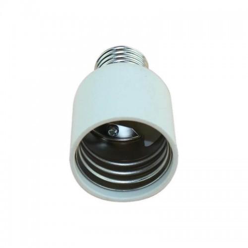 Casquillo adaptador E27-E40 blanco