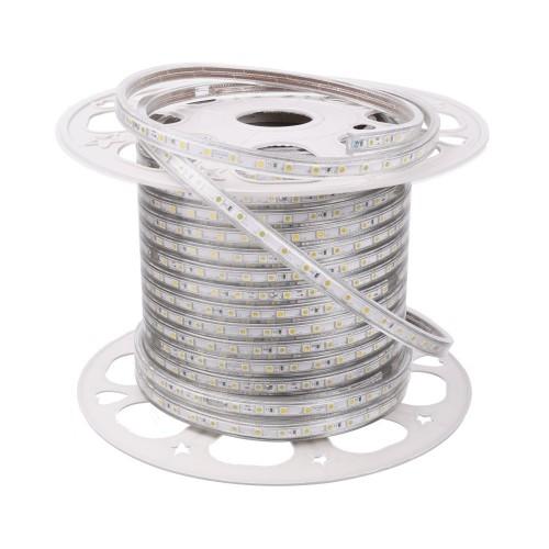 Tira de led 220V 3000K exterior 10w metro bobina 50 metros
