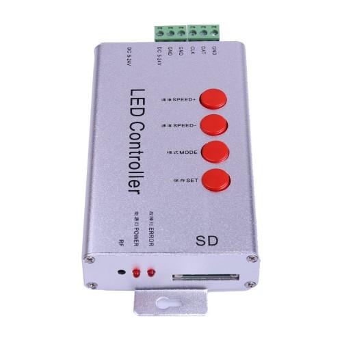 Controlador programable 2048 pixel led Tarjeta SD