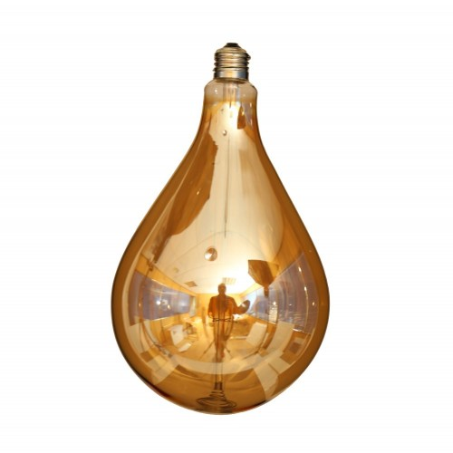 Bombilla led filamento ST160 GOLD globo XXL E27 4W 2700K