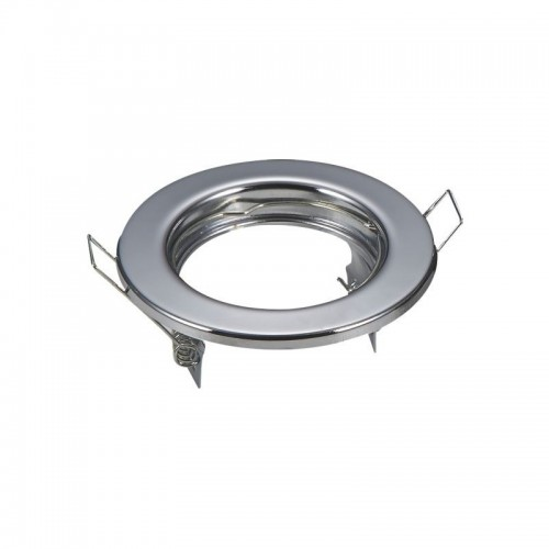 Aro circular para GU10 cromo