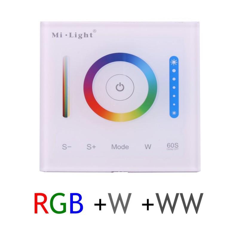 Control tira led RGBW WW 5 canales 15A 12V 24V