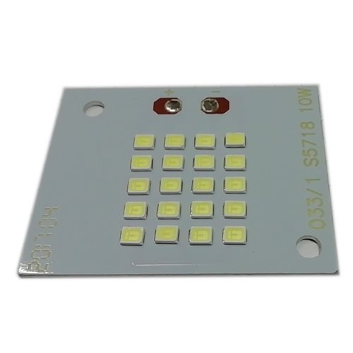 Placa LED 10W 10 led SMD2835 6000K recambio proyector
