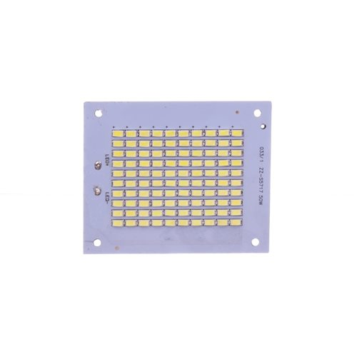 Placa LED 50W 100 led SMD5630 6000K recambio proyector