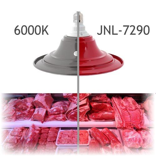 Lámpara LED aluminio para carne E27 50W