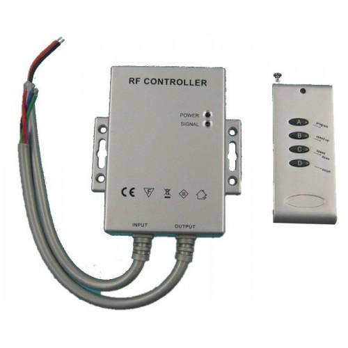 Receptor y mando de control para tira de led RGB