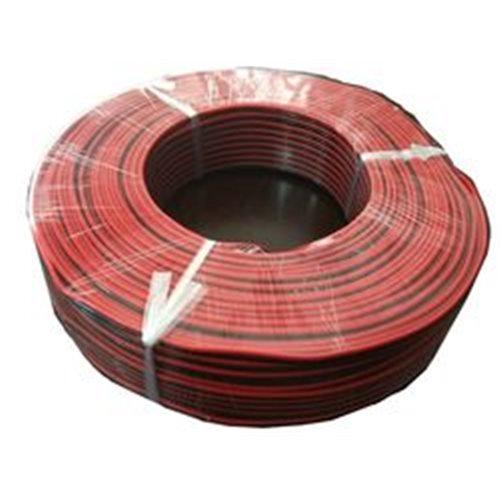 Cable paralelo rojo negro 2x1,5mm bobina 100 metros para led electronica