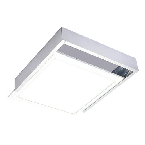 Marco panel led 60*60 superficie blanco