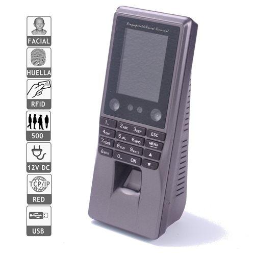 Reloj fichar facial, biometrico tarjeta software incluido