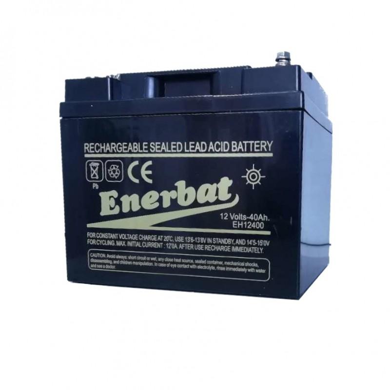 Bateria de plomo recargable de 12V 40 Amperios