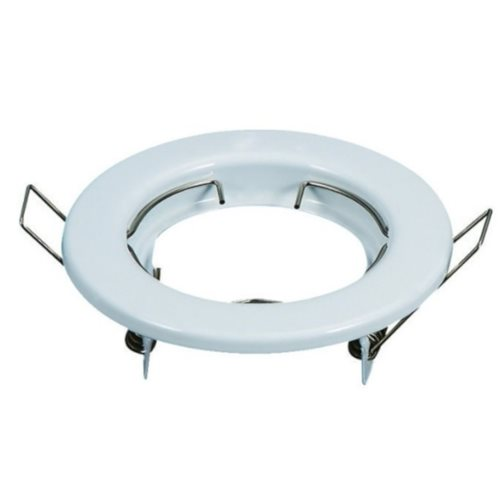 Aro circular orientable para GU10 color blanco