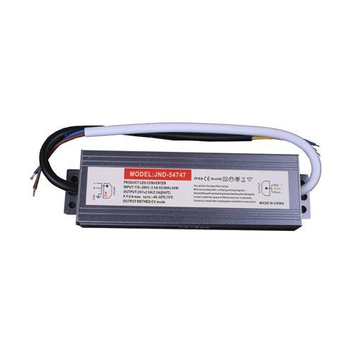Fuente trasformador SLIM 24V 2.5A 60W