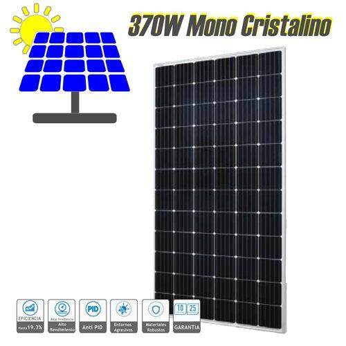 Panel solar fotovoltaico monocristalino 370W Mono 72 células