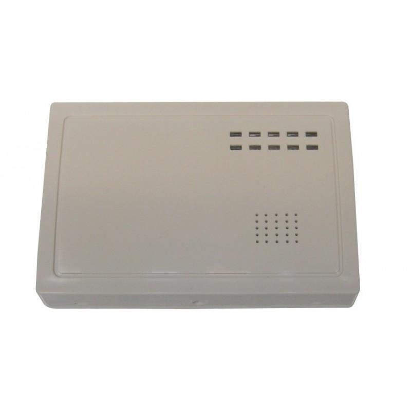 Receptor auónomo para 8 detectores vía radio