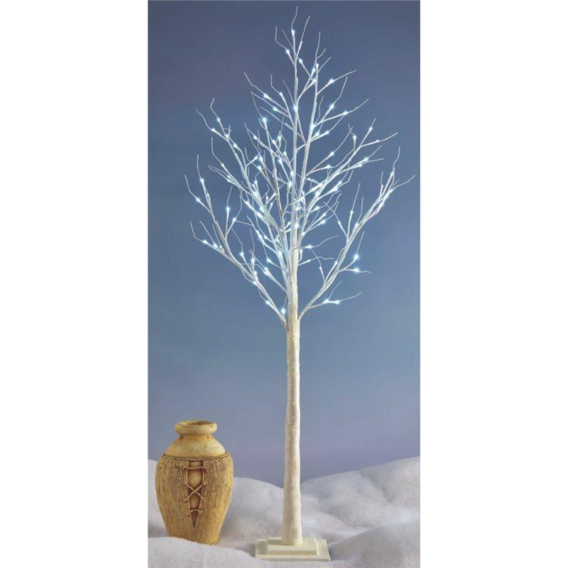 Arbol Led BRILLANT decorativo altura 180cm luz blanco frio 120 Leds 24V