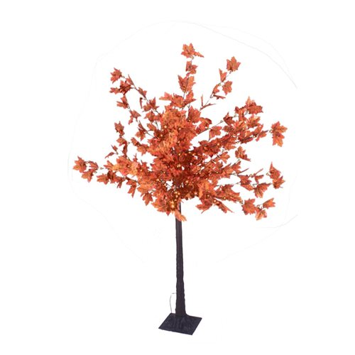 Arbol Led ARCE decorativo altura 150cm luz blanco calido 80 Leds 24V