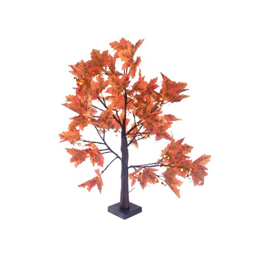 Arbol Led ARCE decorativo altura 70cm luz blanco calido 36 Leds 4,5V USB