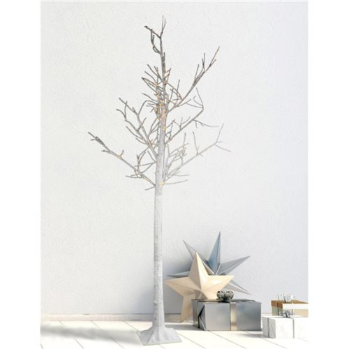 Arbol Led POLA decorativo altura 210cm luz blanco calido 550 Leds 24V