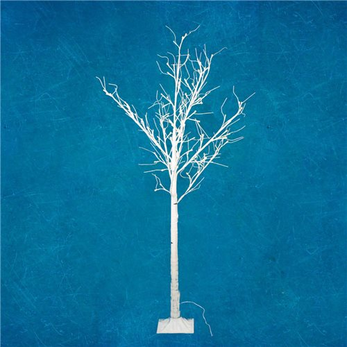 Arbol Led RAY decorativo altura 150cm luz blanco calido 80 Leds 24V