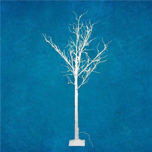 Arbol Led RAY decorativo altura 180cm luz blanco calido 120 Leds 24V