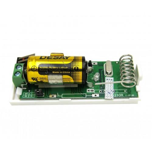 Trasnmisor vía radio para sensores cableados