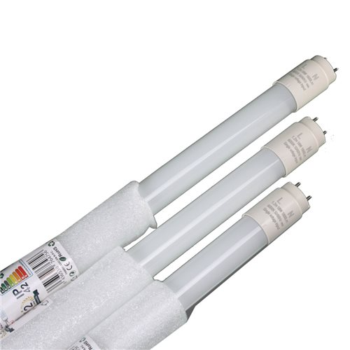 Tubo led 18W 120 cm 4200K  T8 220V cristal Conexión 1 lado  Caja 20 uds