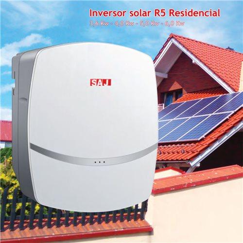 Inversor monofasico SAJ solar foto voltáico  autocosumo 3,6 a 6Kw