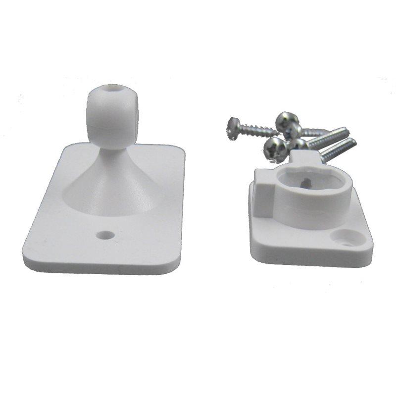 Rótula universal atonillable para detector PIR