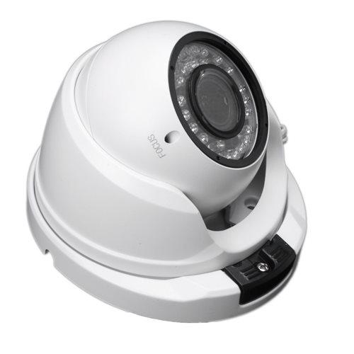 Camara IP POE ONVIF HD Domo optica 2,8-12mm exterior IP65