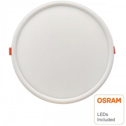 Downlight led 20W 6000K corte ajustable leds OSRAM