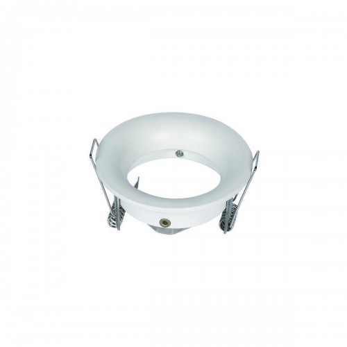 Aro circular fijo para GU10 blanco