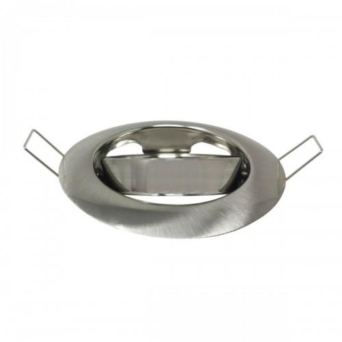 Aro circular orientable para GU10 niquel satinado