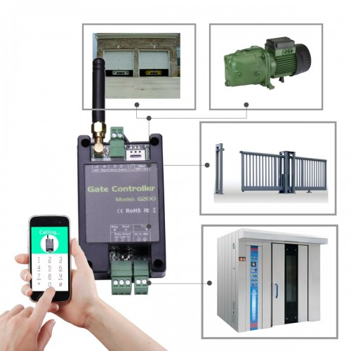 Activador GSM SMS por llamada perdida con salida de relé