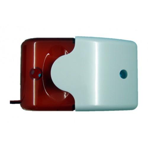 Sirena de interior optica y acústica 12V