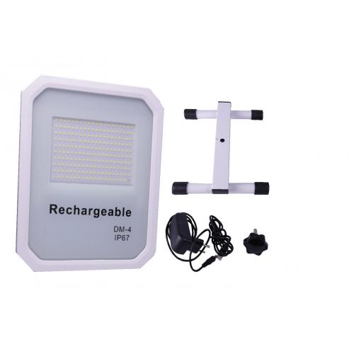 Proyector LED SNOW 1600 Lúmenes 100w con batería y cargador