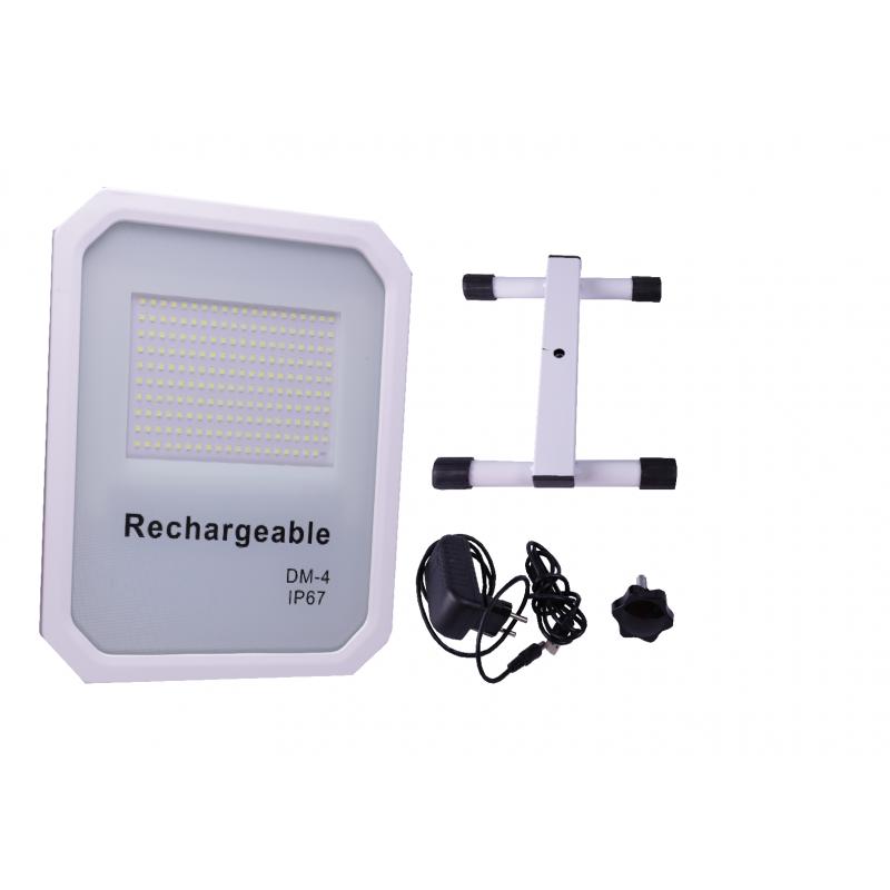 Proyector LED SNOW 100w con batería y cargador