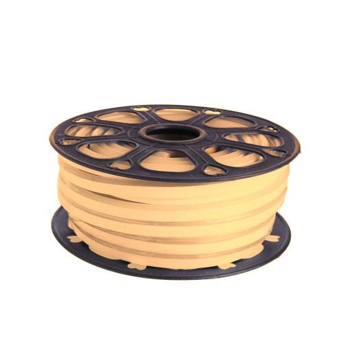 Neon led flexible simple 12V 3000K 8mm corte 1 cm 100 led metro 12W 25m