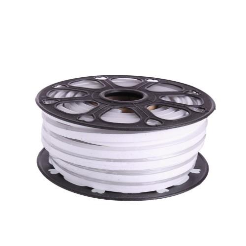 Neon led flexible simple 12V 6000K 8mm corte 2,5 cm 112 led metro 8W 25m (Defectuoso)